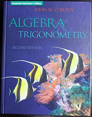 9780077235017: Algebra & Trigonometry Annotated Instruc