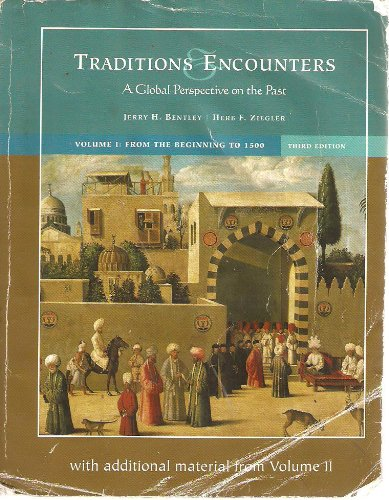 9780077235390: Traditions Encounters a global perspective on the past