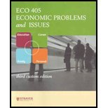 9780077235734: ECO405 : Economic Problems and Issues ECO 405 Strayer university