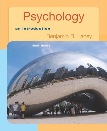 9780077236342: Psychology: An Introduction with In Psych Student CD-ROM
