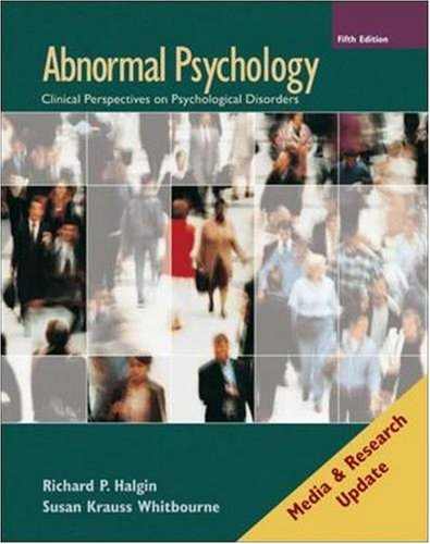 9780077236380: Abnormal Psychology: Media and Research Update (5e with MindMap CD-ROM)