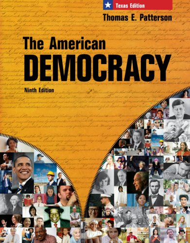9780077237929: The American Democracy, Texas Edition