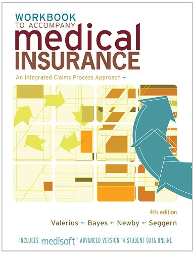 9780077238100: Study Guide/Workbook to Accompany Medical Insurance: An Integrated Claims Approach 4/e