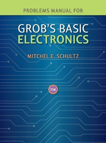 9780077238322: Problems Manual to accompany Grob's Basic Electronics