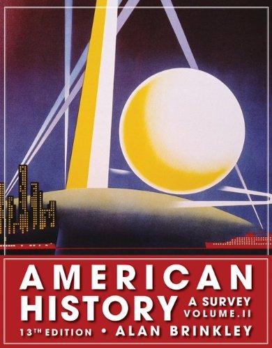 9780077238544: American History, Volume 2: A Survey