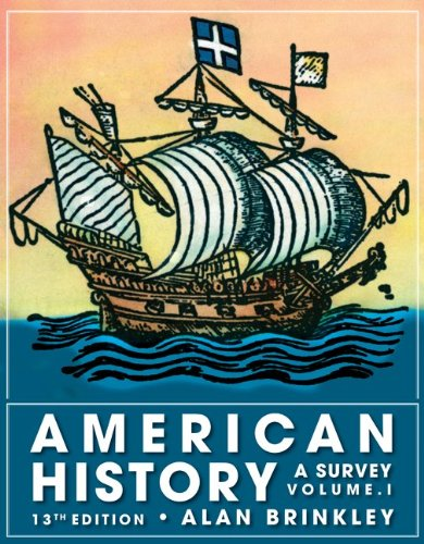 9780077238551: American History, Volume 1: A Survey