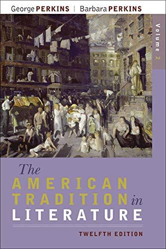 The American Tradition in Literature, Volume 2: George Perkins, Barbara
