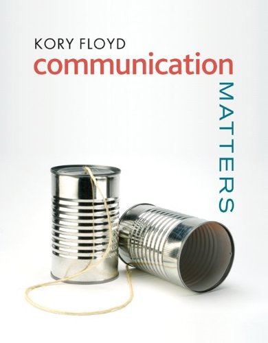 9780077239428: Connect Plus Communication with LearnSmart 1 Semester Access Card for Communication Matters