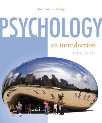9780077239640: Psychology an Introduction [Paperback] by Lahey, Benjamin B.
