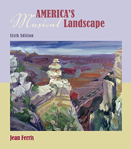 Audio CD set for use with America's Musical Landscape (0077240316) by Jean Ferris