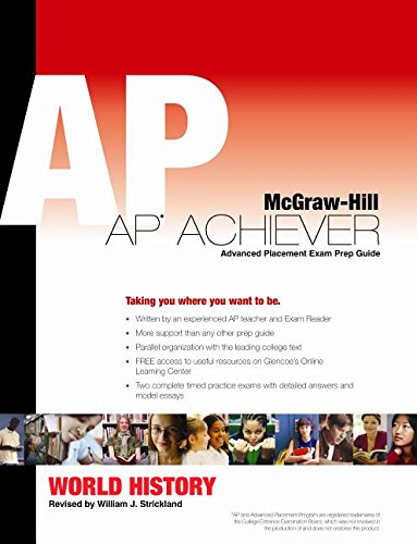 9780077243005: AP Achiever: Advanced Placement Test Preparation Guide (World History)