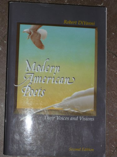 9780077243081: Modern American Poets Their Voices and Visions (Modern American Poets Their Voices and Visions)