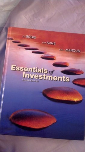 9780077246051: Essentials of Investments (Essentials of Investments Eight Edition)