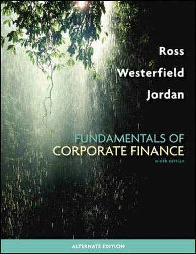 9780077246129: Fundamentals of Corporate Finance Alternate Edition