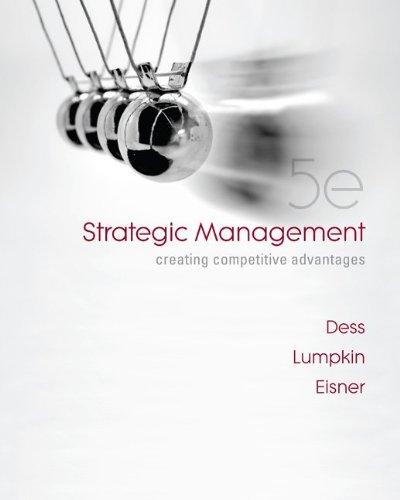 9780077246266: Strategic Management: Creating Competitive Advantages