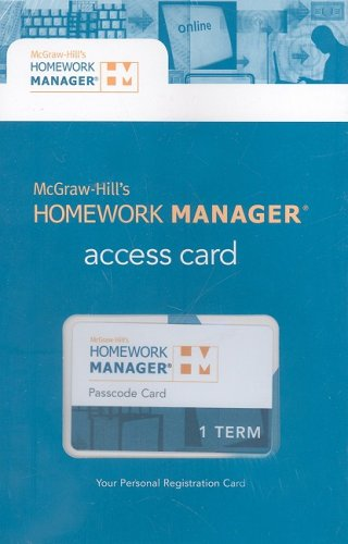 9780077247034: Connect™ Access Code Card for The Macro Economy Today (McGraw-Hill's Homework Manager)