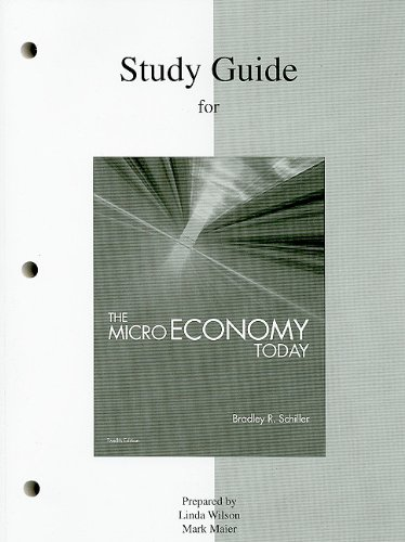 9780077247485: Study Guide for The Micro Economy Today, 12th Edition
