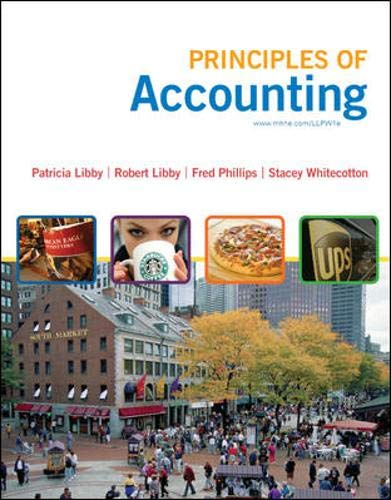 Principles of Accounting w/Annual Report: Robert Libby, Patricia