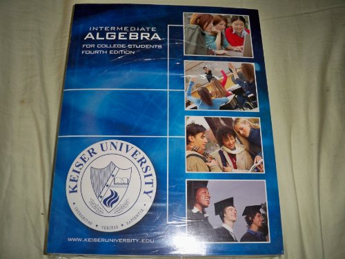 9780077251215: Intermediate Algebra for College Students