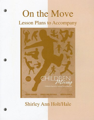 9780077251321: On the Move: Lesson Plans to accompany Children Moving