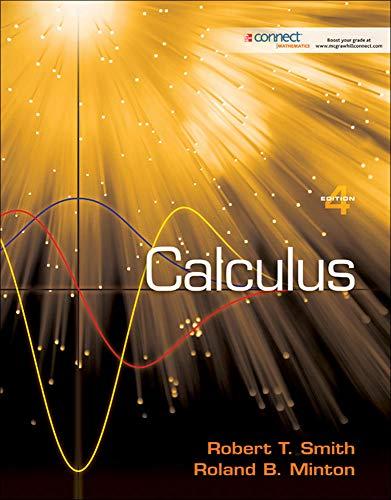 9780077256968: Calculus