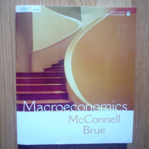 9780077257347: Macroeconomics: Principles, Problems, and Policies (Home Work Edition)