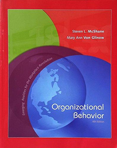 9780077257910: Organizational Behavior