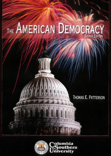 9780077258023: The American Democracy Custom Columbia Southern University