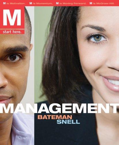 M: Management w/Review Cards & OLC Access: Thomas Bateman, Scott