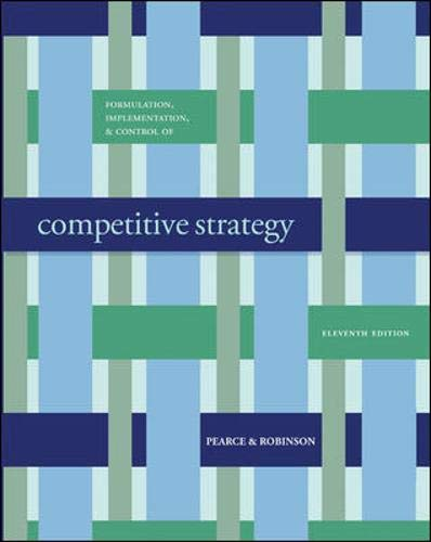 9780077261757: Formulation, Implementation and Control of Competitive Strategy with Business Week 13 week Special Card