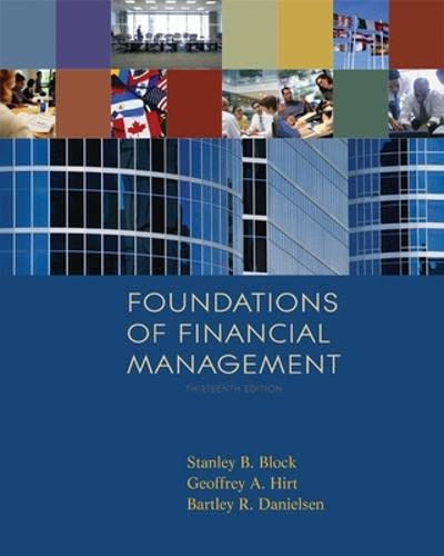 Foundations of Financial Management w/S&P bind-in card: Stanley Block, Geoffrey
