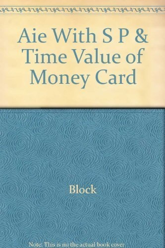 9780077262044: Foundations of Financial Management: With S & P and Time Value of Money Card, 13th Edition, Annotated Instructor's Edition