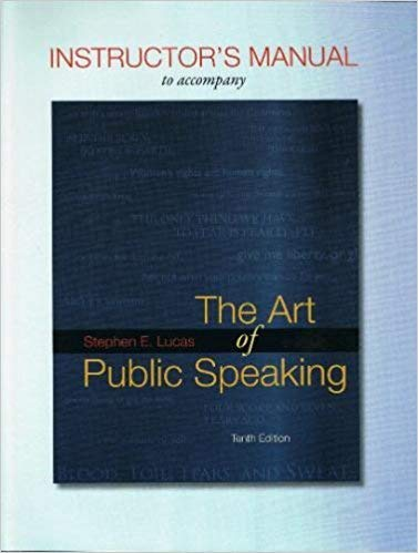The art of public speaking 12th edition ebook pdf software.