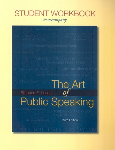 9780077262310: Student Workbook for use with The Art of Public Speaking