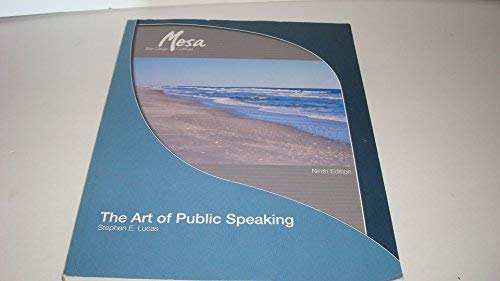 9780077263065: The Art of Public Speaking (Custom Edition for San Diego Mesa College)