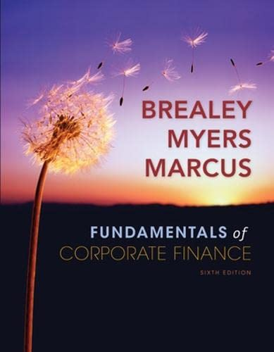 Fundamentals of Corporate Finance with Standard &: Breasley