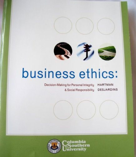 9780077264031: Business Ethics: Decision-Making for Personal Integrity & Social Responsibility