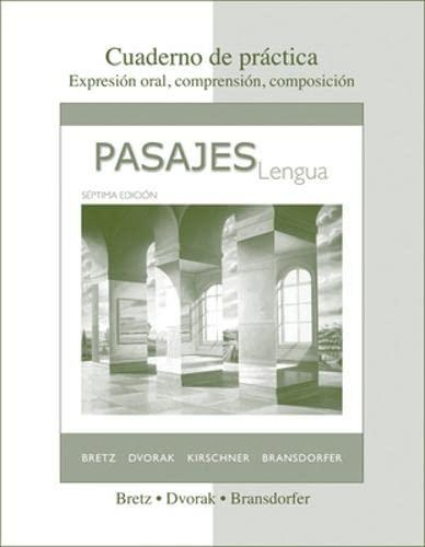 9780077264154: Pasajes: Cuaderno De Practica, 7th Edition (Spanish Edition)