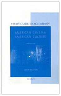 9780077265472: Study Guide to Accompany American Cinema / American Culture Telecourse