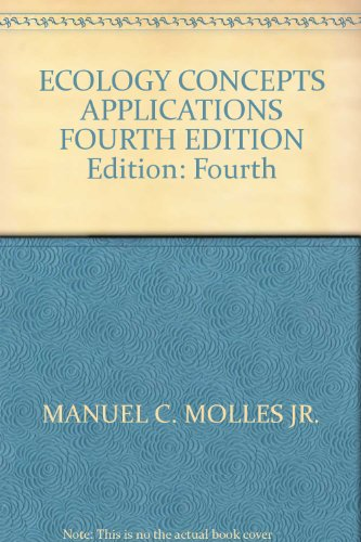 9780077265748: Ecology Concepts & Applications