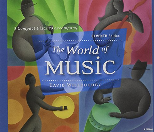 9780077265984: 3-CD set for use with The World of Music