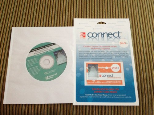 9780077270100: Connect Plus Access Card for Statistical Techniques in Business & Economics