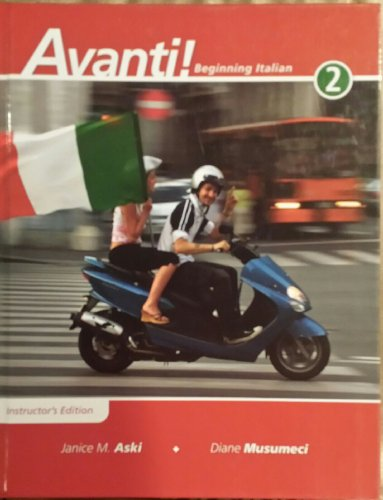 9780077270452: Instructors Edition to Accompany Avanti