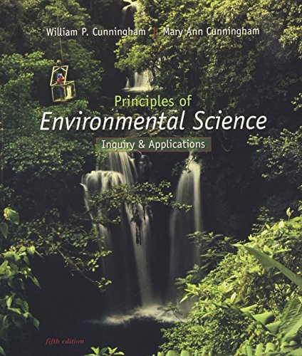 9780077270643: Principles of Environmental Science: Inquiry & Applications