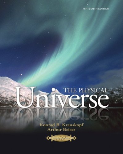 9780077270704: The Physical Universe