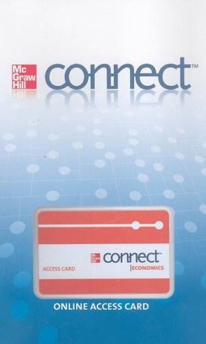 9780077273842: Connect Access Card for Microeconomics (McGraw-Hill Connect)