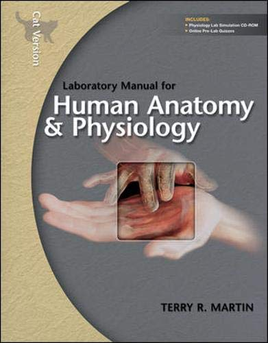9780077274351: Laboratory Manual for Human Anatomy & Physiology: Cat Version w/PhILS 3.0 CD