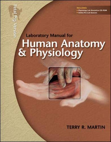 9780077274368: Laboratory Manual for Human Anatomy & Physiology: Pig Version w/PhILS 3.0 CD