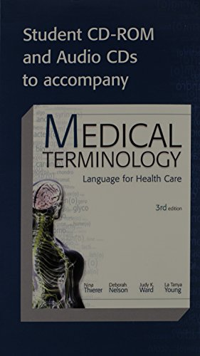 9780077274498: Student CD-ROM and Audio CDs To Accompany Medical Terminology Language For Health Gare