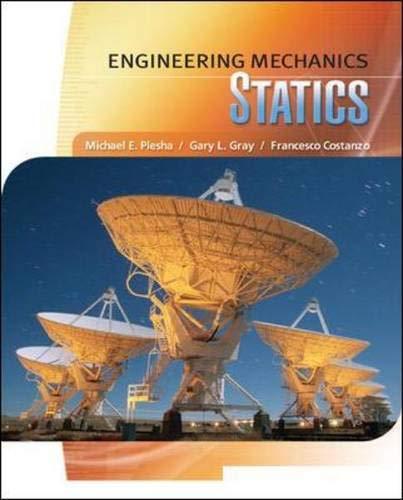 9780077275532: Engineering Mechanics: Statics